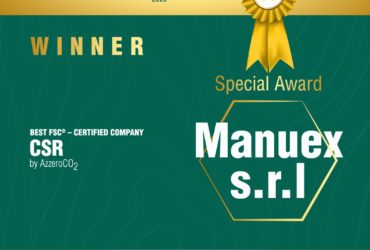 """Manuex vince il Furniture Award 2020 di FSC® con un premio speciale """"Responsabilità sociale d'impresa – sostenibilità ambientale"""""""
